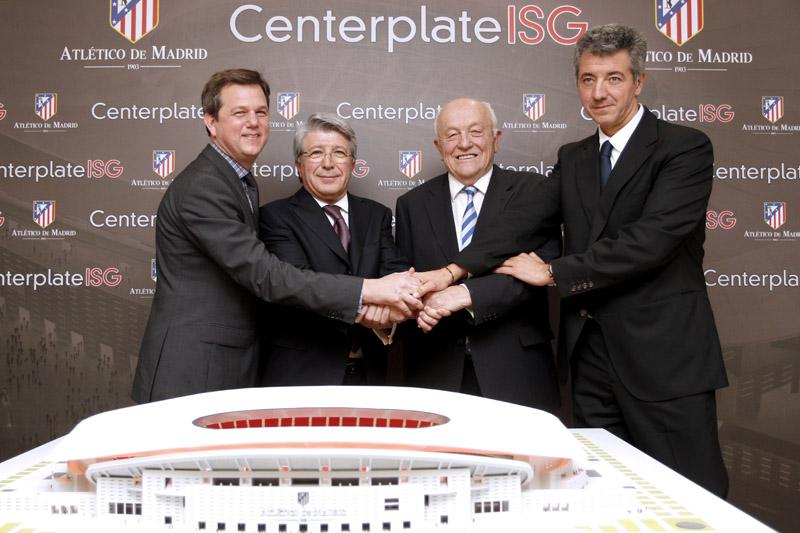 CenterplateISG and Atlético de Madrid