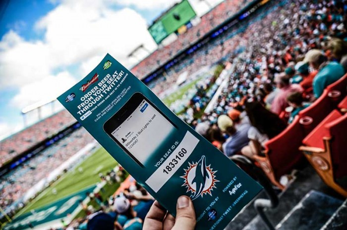 @BeerMe In-Seat Ordering_(c) Miami Dolphins