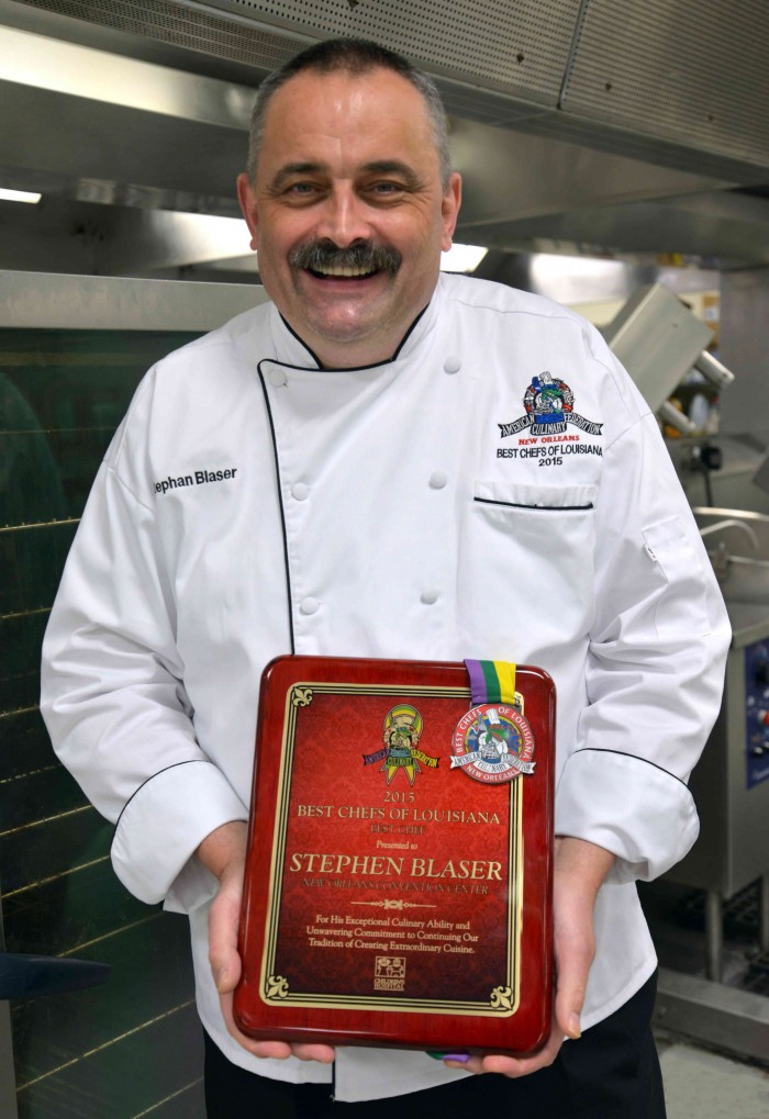 "Centerplate's Executive Chef at the Ernest N. Morial Convention Center awarded ""Best Chef"" 2015"