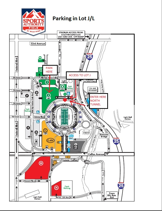 Adjusted parking map